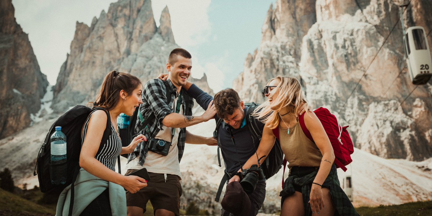travel influencers collaborating together